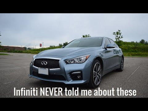 Cool HIDDEN Features Of The Infiniti Q50S