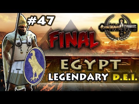 (FINAL) ON TOP OF THE WORLD! - Divide Et Impera - TW: Rome II - Egypt Legendary Campaign #47