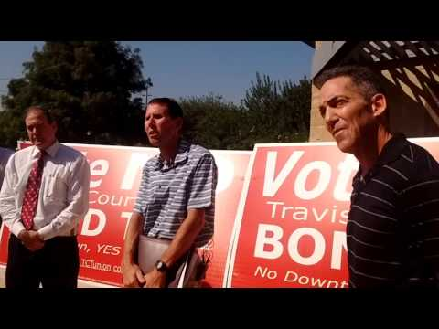 10/14/2015 -- Travis County Taxpayers Union Courthouse Press Conference