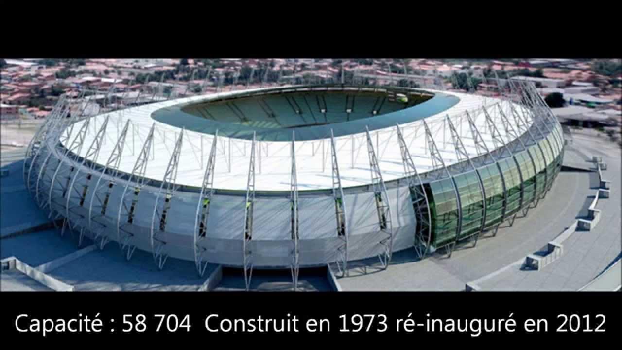 Tout les stades de la coupe du monde 2014 br sil youtube - Stade coupe du monde 2022 ...