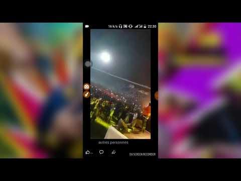 King alasko clash sur scène sur son morceau face a face 2018