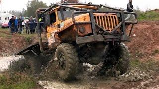 Extrem offroad - Truck TRIAL - Tatra 6X6 Ural 6X6