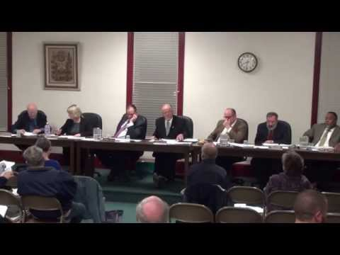 2014-11-24 Tabernacle Township Committee Meeting