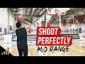 How to: Shoot A Basketball PERFECTLY Every Time From the Mid Range!! Basketball Shooting Drills