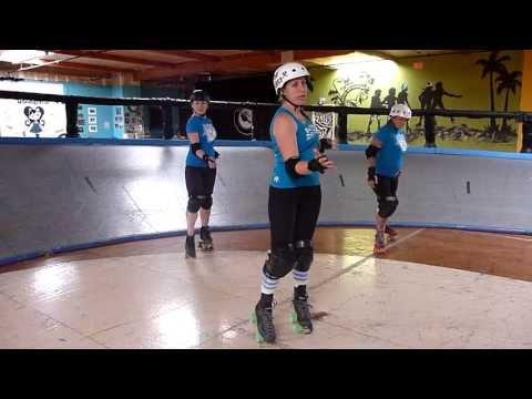 Roller Derby Technique: Jumping in Stride with San Diego Derby Dolls