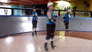 Roller Derby Technique: Jumping in Stride with San Diego Derby Dolls