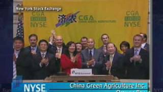 Hickey Freihofner Capital with China Green Agriculture NYSE Opening Bell.mp4
