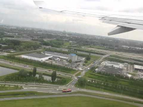 Amsterdam-Moscow KLM Take-off