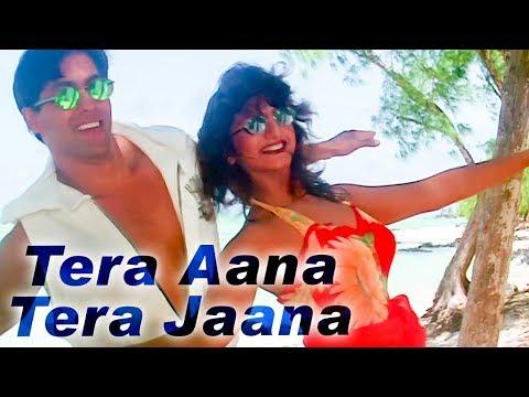 Tera Aana Tera Jaana - Salman Khan - Rambha- Judwaa Song - Kumar Sanu Kavita Duet -90s Superhit song