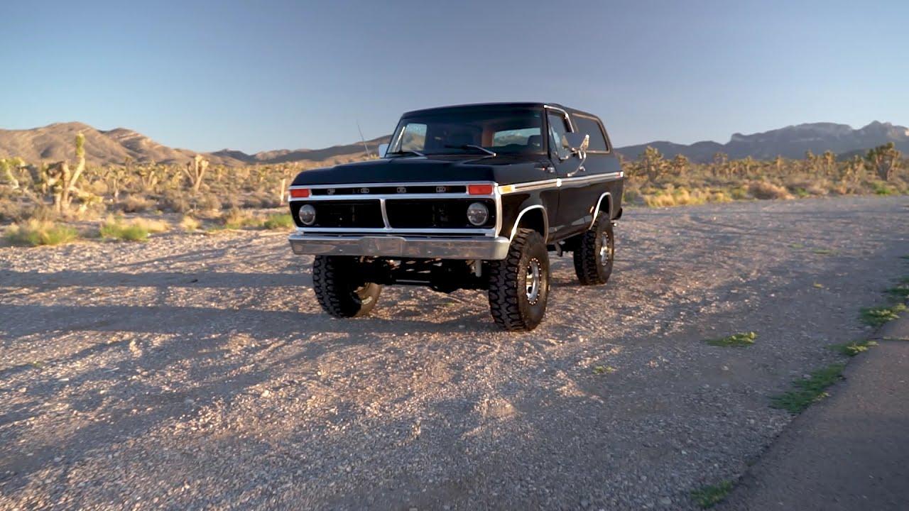 Download Hodson Motors 1979 Bronco Giveaway Truck Detail Video