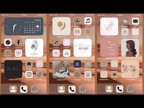 How To Customize Your Iphone 6s Into Aesthetic Ios 14.????(all Ios)