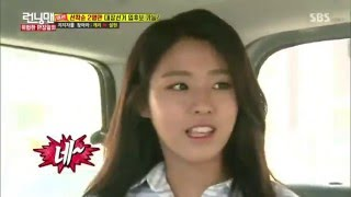 vuclip Runningman - Seolhyun choose Joong Ki over Gary and KwangSoo