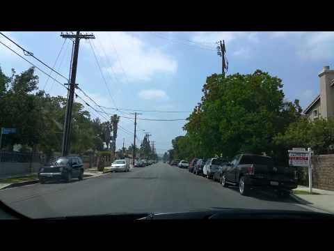 Driving Around San Fernando Valley