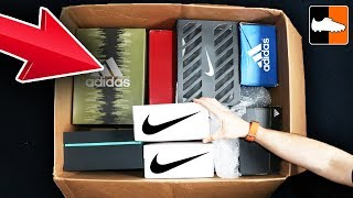 What's In The Box?! Giant adidas & Nike Unboxing