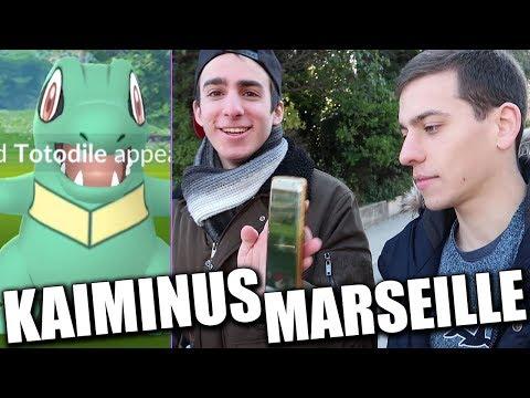KAIMINUS SHINY À MARSEILLE ! (FEAT. GALLIOUS, PHIRRUX & RAYQUAMASTER) - POKÉMON GO thumbnail