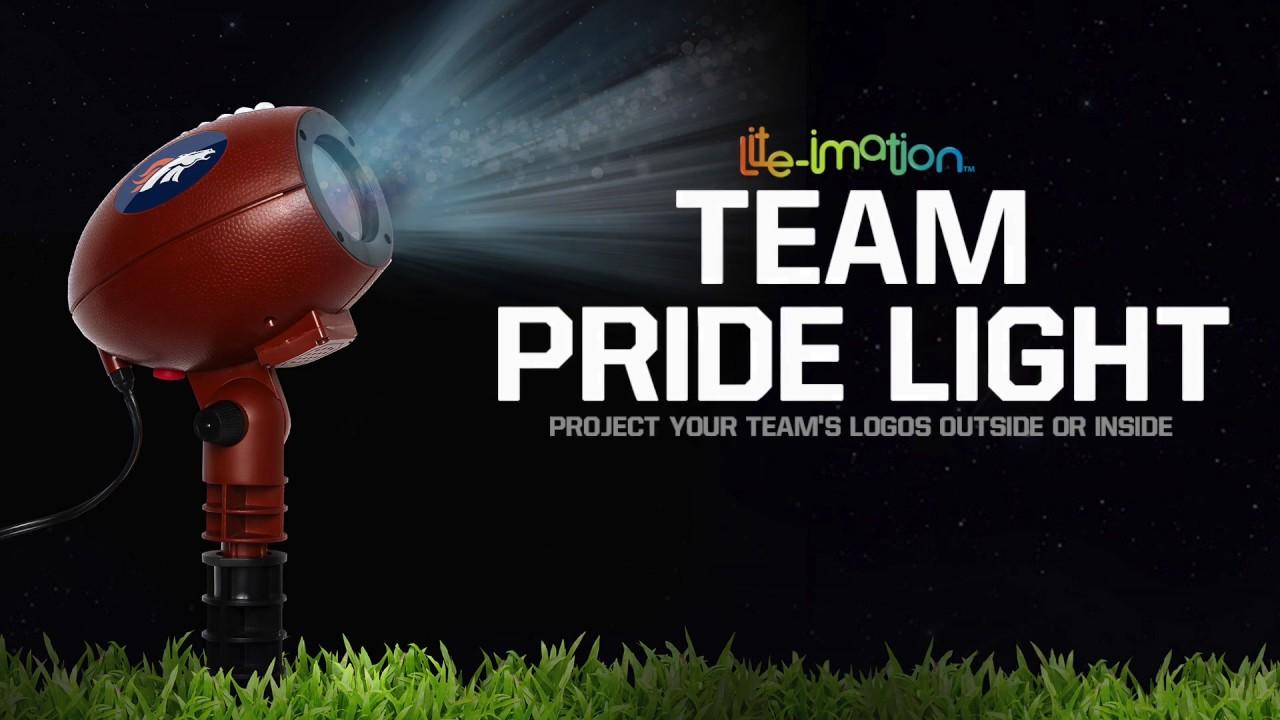 NFL Team Pride Light  YouTube