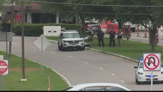 Suspicious package found during traffic stop