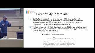 Ulkomaalaisomistuksen vaikutukset | Tuomo Virkola
