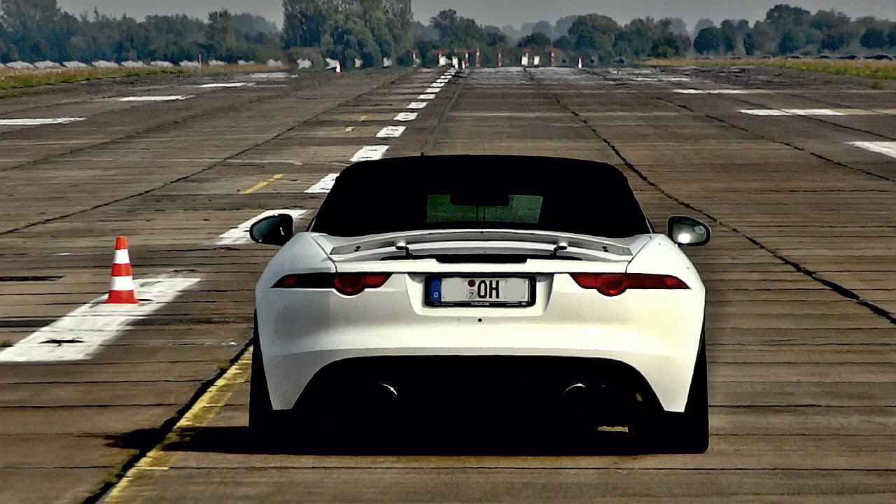 Jaguar F Type R V8 560hp Brutal Exhaust Sound Pure Capristo Sounds You