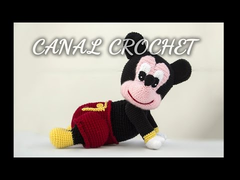 CROCHET MICKEY MOUSE COCOON FunnyCat.TV