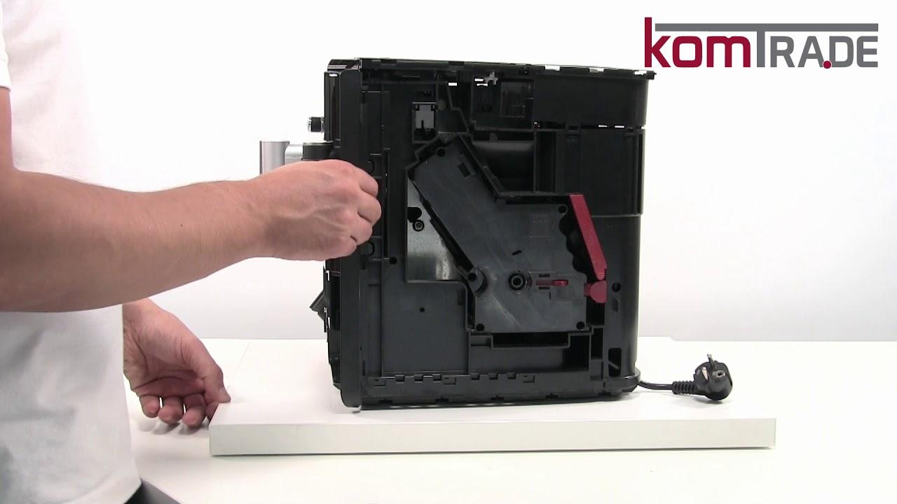Gut gemocht Siemens EQ.7 Serie Reparaturanleitung Durchlauferhitzer ausbauen XU24