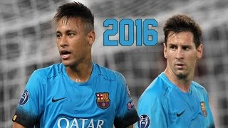 Neymar Jr & Lionel Messi ● Magic Duo ● Skills & Goals 2016 HD