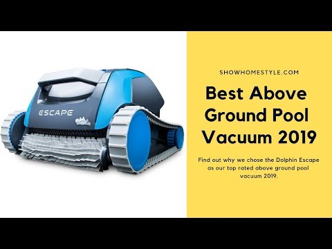 Best Above Ground Pool Vacuum For Intex | Automatic Robot Algae Cleaner