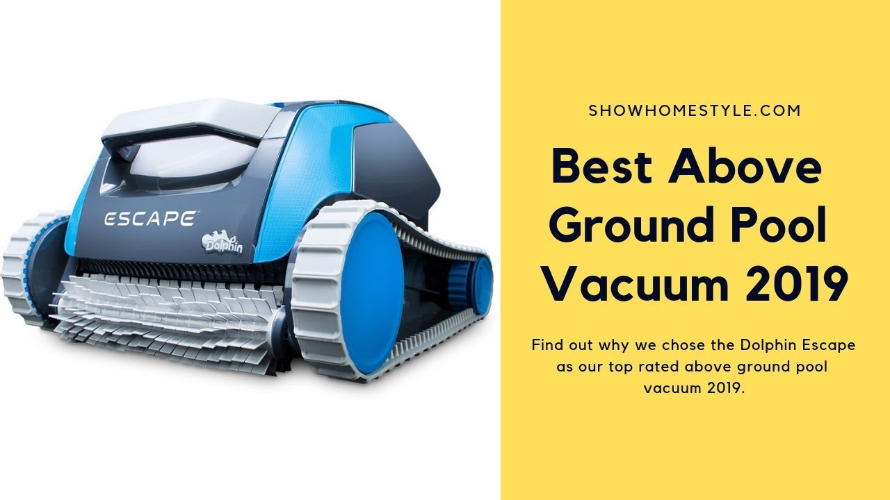 Best Above Ground Pool Vacuum For Intex Automatic Robot