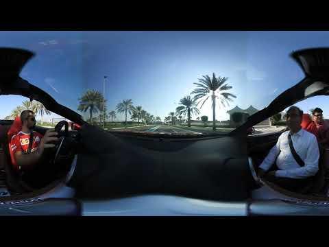 Dubai Tour in Ferrari  (360° VR)