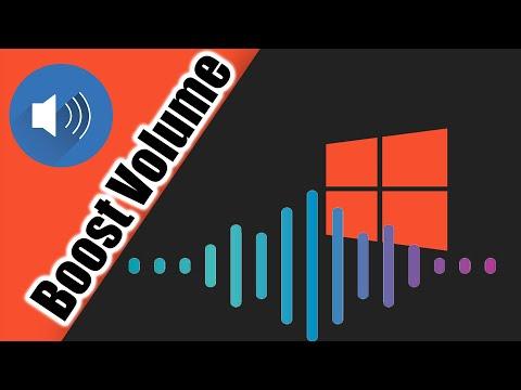 increase laptop volume windows 7