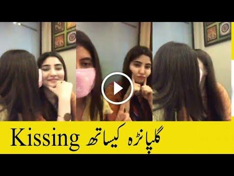 Gul panra kissing Hot video thumbnail