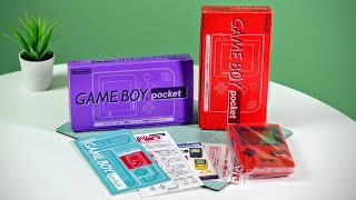 Unboxing GameBoys like it's 1996