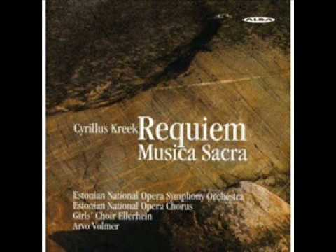Cyrillus Kreek Requiem.