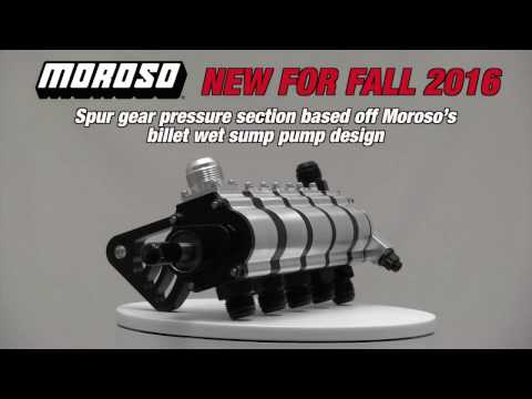 Part #22365, Dry Sump Pumps Tri-Lobe With Fuel Pump Drive