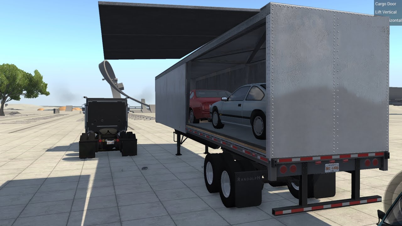 BeamNG.drive - Car Transport Addon - YouTube