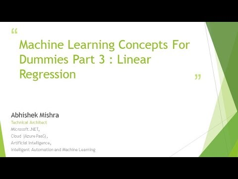 machine-learning-concepts-for-dummies-linear-regression-basics