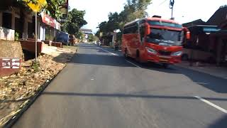 Travel trip on Sirahan Cluwak, kota Pati city. Perjalanan blusukan sore tour motor. Travel vlog.