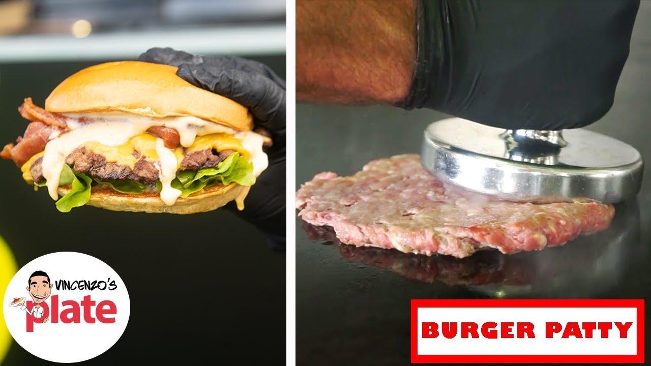 How To Make Smash Burger Patties At Home Youtube