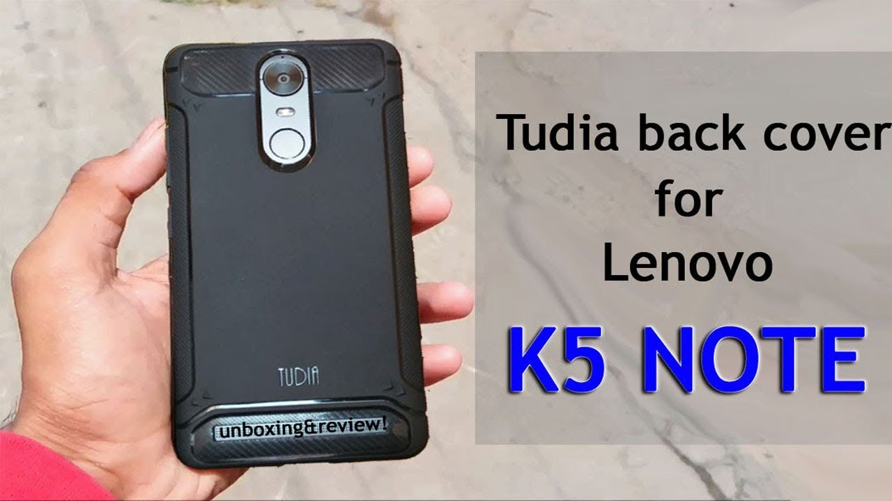 on sale 3baf8 14ffe Tudia TAMM case for Lenovo k5 note-unboxing & Review!