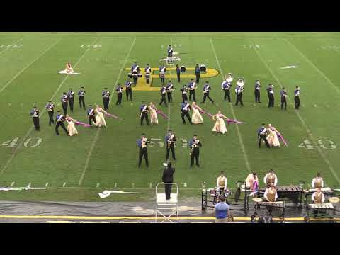 Huntingdon High School Band from September 22, 2018