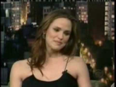 Jennifer Garner on The Late Show with David Letterman