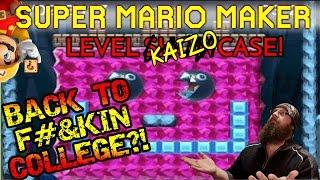 SUPER MARIO MAKER - BACK TO F#%KIN' COLLEGE?!  - KAIZO COLLEGE: FINALS COUNTDOWN - LEVEL SHOWCASE