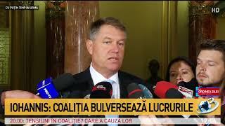 Iohannis: Se impune o amânare a Codului Fiscal