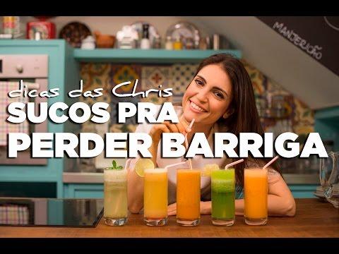 TV Chris Flores: 5 receitas de sucos para secar a barriga em uma semana