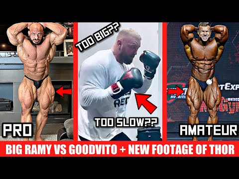 New Boxing Footage of Thor (& Opponent) + Big Ramy VS GoodVito + Arnold Brazil New Dates +MORE