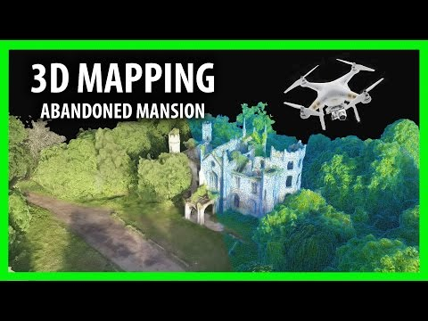 3D Mapping - ABANDONED house Cambusnethan Priory