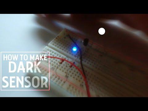 How to make Dark Detecting LED - YouTube