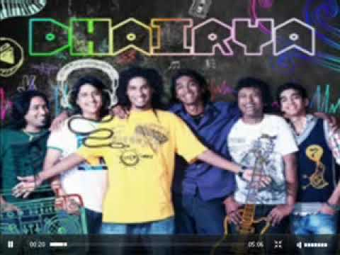 bidrohi [own composition] by dhairya  The band   mtv rock on........
