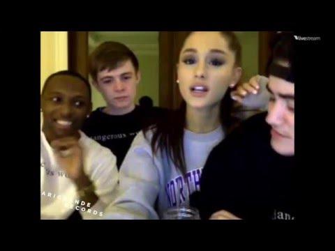 Ariana Grande | DANGEROUS WOMAN LIVECHAT *2/29/16* (Pt. 1/2)