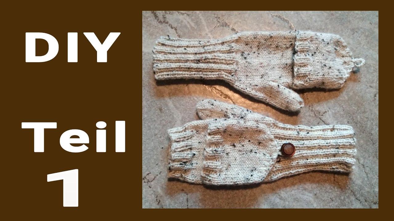 DIY • Marktfrauen-Handschuhe stricken #1 * Julebuergerfee - YouTube